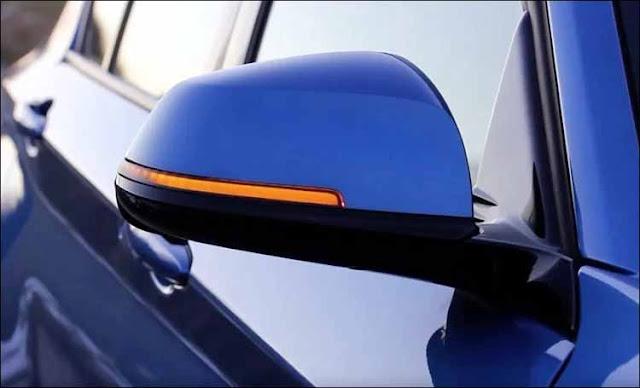 Kiểu đèn xi-nhan phổ biến trên ôtô hiện nay, tích hợp trên gương chiếu hậu