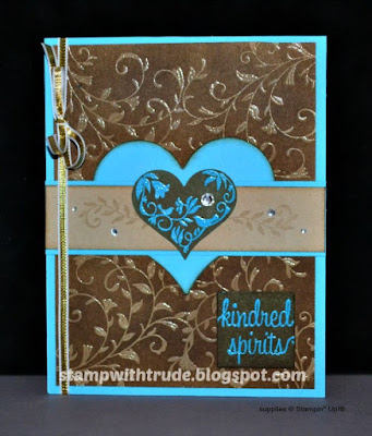 ight, Stampin' Up!, Stamp with Trude, greeting card, Tuesday Tutorial