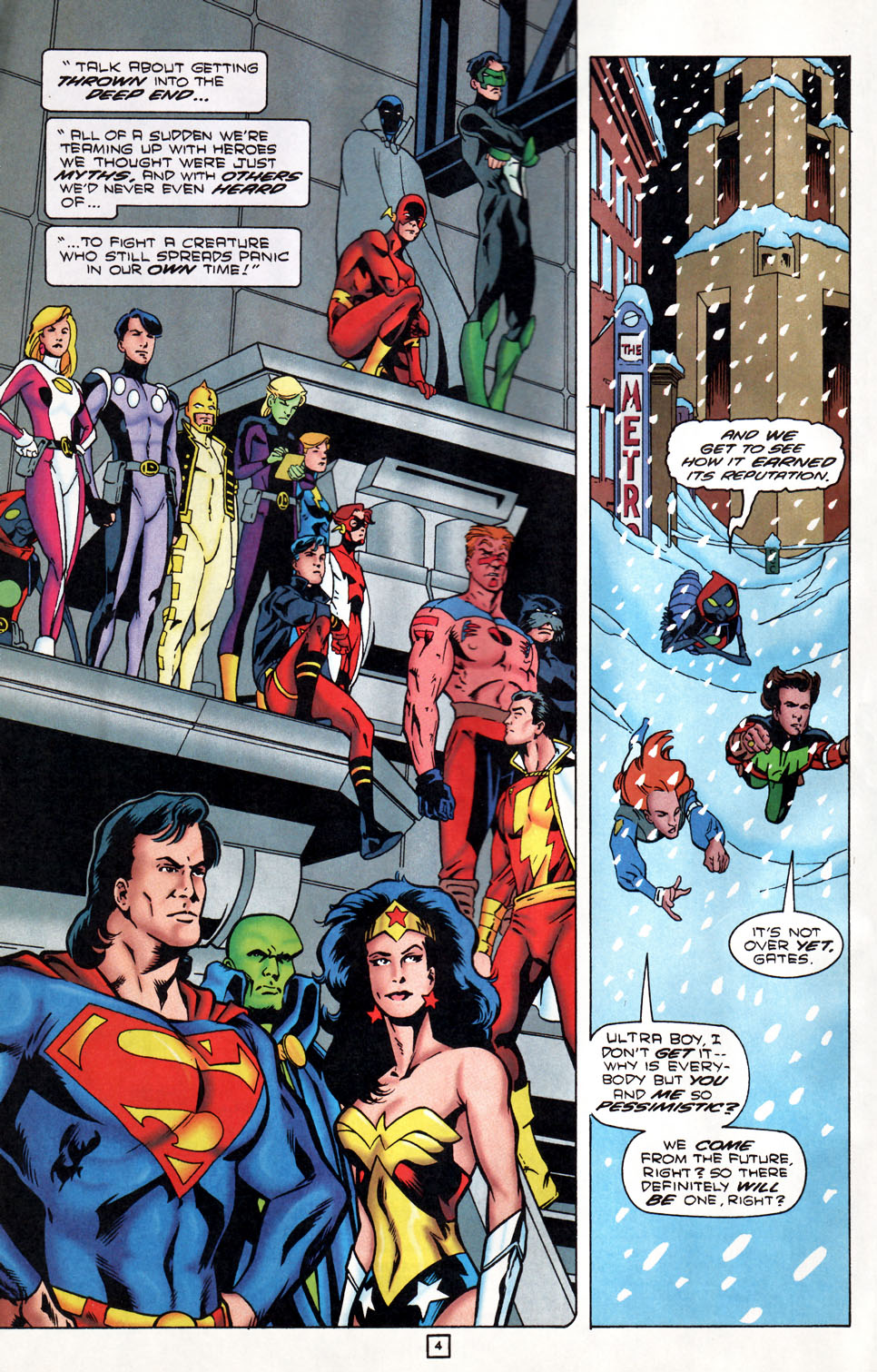 Legion of Super-Heroes (1989) 86 Page 4