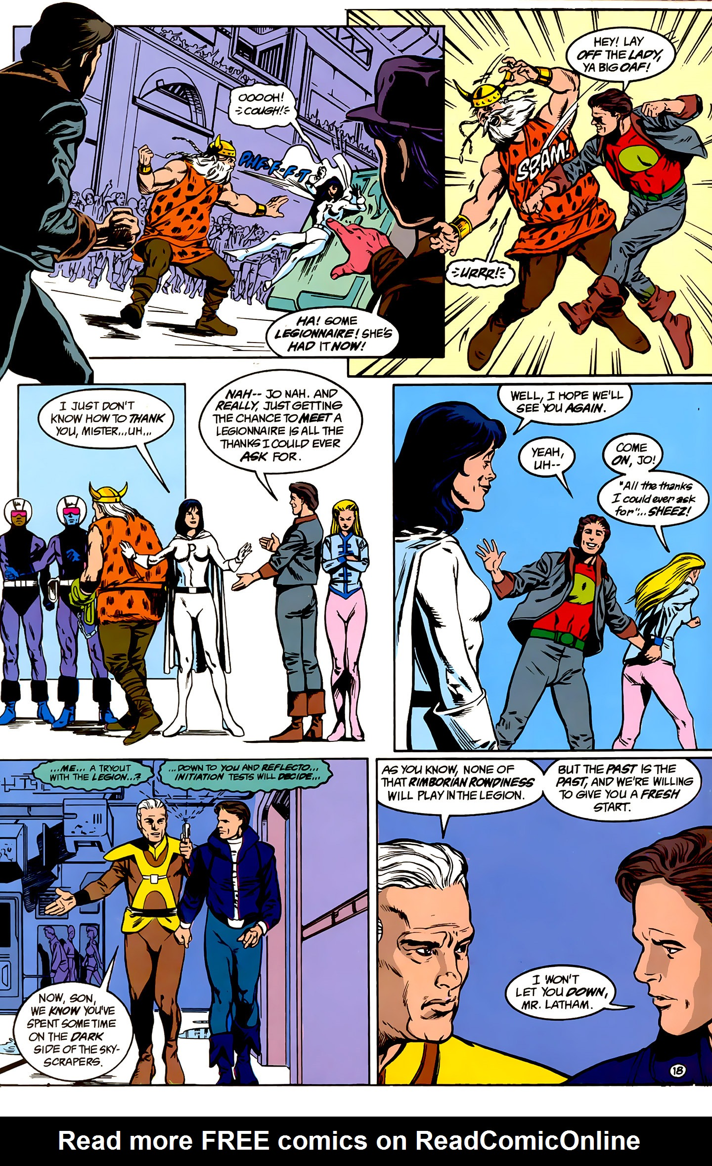 Legion of Super-Heroes (1989) _Annual_1 Page 18