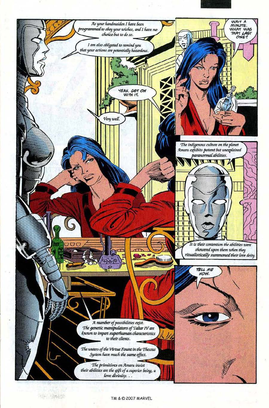 Silver Surfer (1987) issue 66 - Page 11