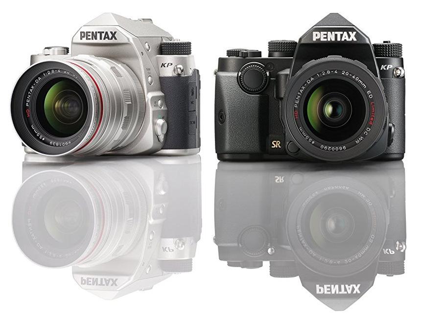 Pentax KP, серебристый и черный