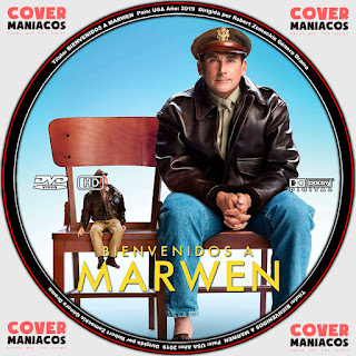 WELCOMEN TO MARWEN - BIENVENIDO A MARWEN 2019 [ COVER DVD]GALLETA