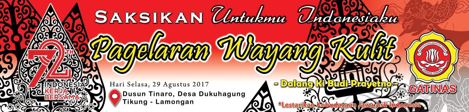 www sya kur blogspot com contoh banner sepanduk pagelaran wayang kulit hut ri ke 72 tinaro tikung lamongan contoh banner sepanduk pagelaran wayang