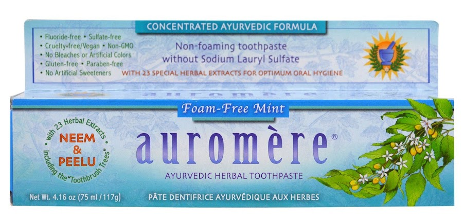 amazoncom ayurvedic herbal toothpaste mintfree by
