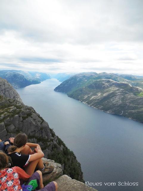 Preikestolen, Lysefjord, Norwegen- neuesvomschloss