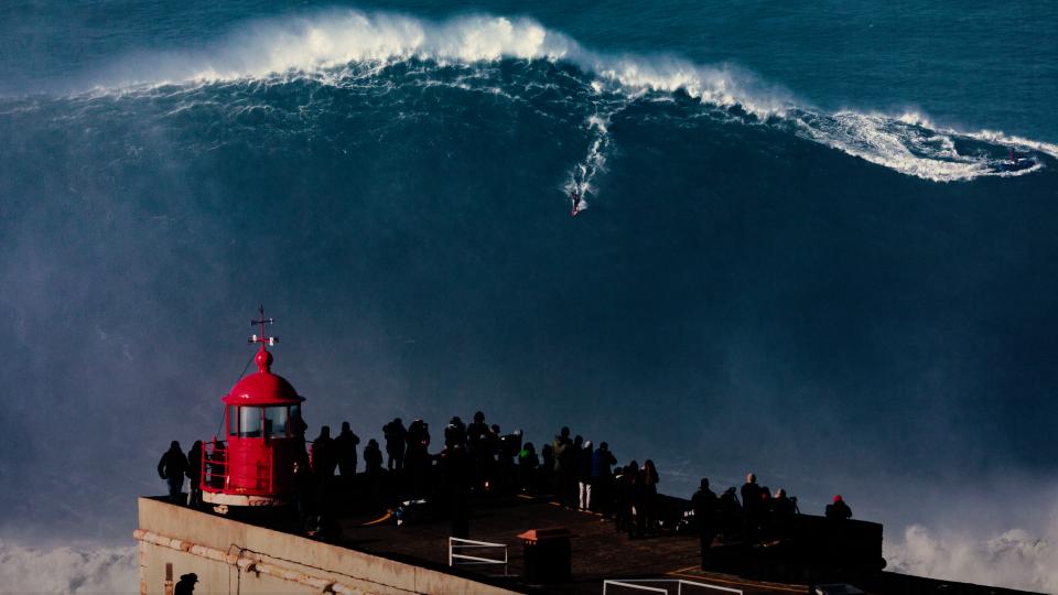 Nazare Tow Surfing Challenge
