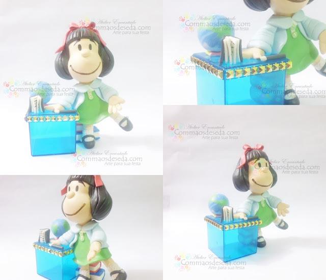 Bonequinha Mafalda de Biscuit!