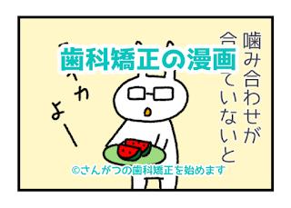 歯科矯正の漫画 17 噛み合わせ編