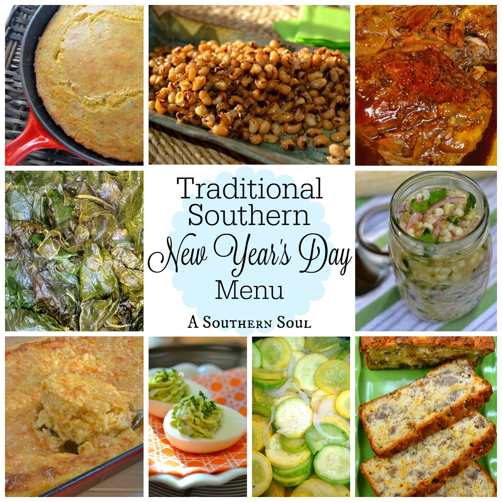 Traditional Southern New Year's Day Menu | A Southern Soul