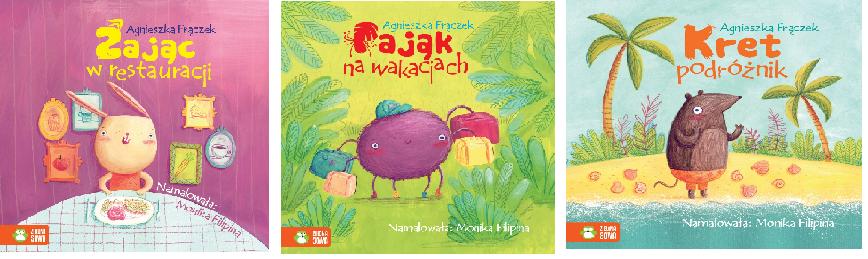 książki dla dzieci fajne