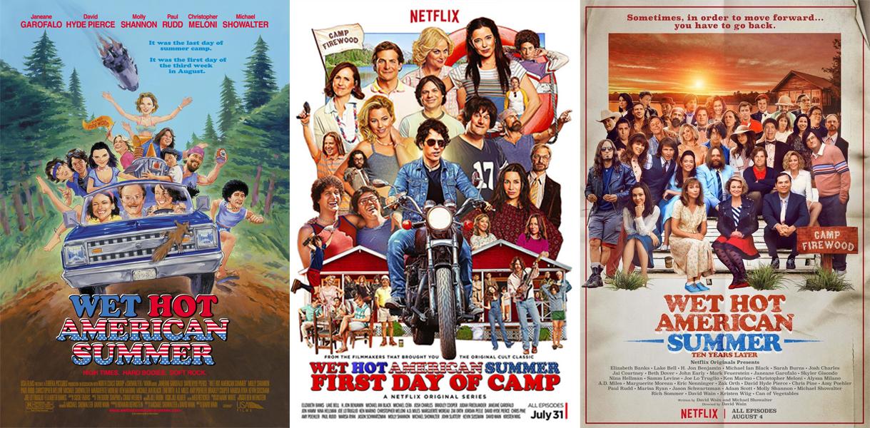 Posters de película y series de Wet Hot American Summer