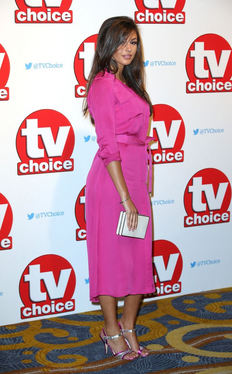 HQ Photos of Michelle Keegan At TV Choice Awards 2015 In London