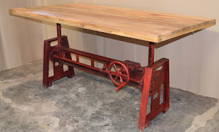 Industrial Vintage Retro Solid Wooden Iron Home