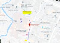 Peta lokasi Titik Jemput Penumpang Ojek Online Gojek-Grab di Rs Sardjito Yogyakarta