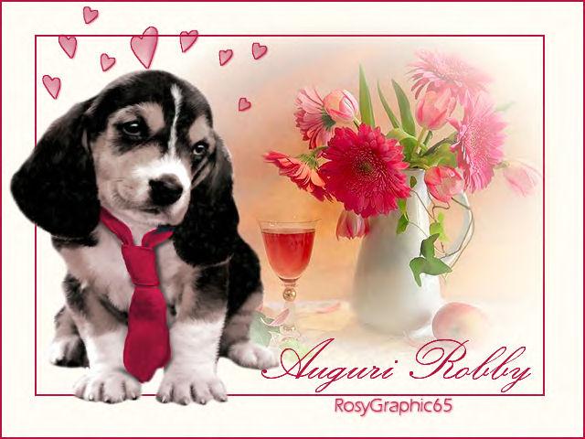 Super Hay Lin bau bau: Auguri di Buon Compleanno da Rosy OM84