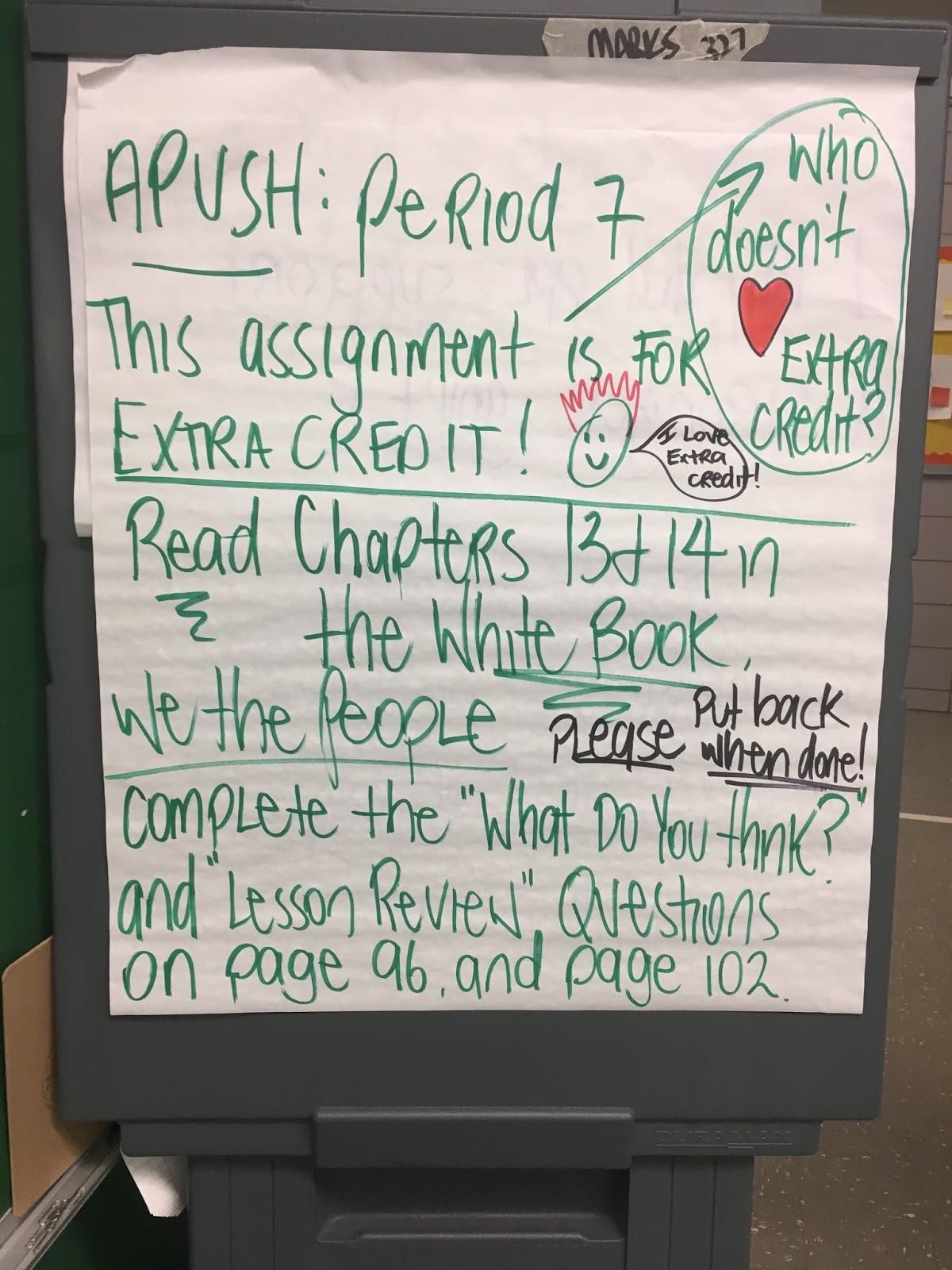 Mr  Tesler's AP US History Blog: 2017