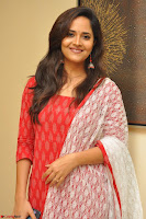 Anasuya Bharadwaj in Red at Kalamandir Foundation 7th anniversary Celebrations ~  Actress Galleries 032.JPG