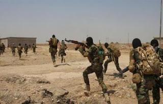 انطلاق عملية لملاحقة الخلايا  النائمة لعناصر داعش في المناطق المحررة من مشروع قناة الثرثار إلى ضفة نهر الفرات