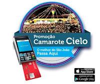 Promoção Camarote Cielo Caruaru appcielomovimenta.com.br