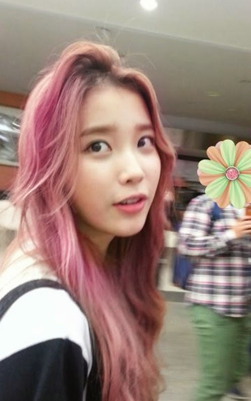 female idols with pink hair k pop k fans
