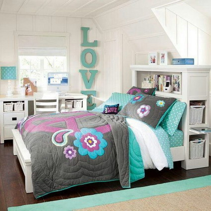 10 cute and lovely bedroom ideas for little girls 5