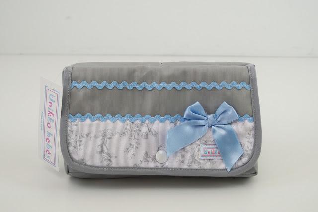 wipe holder gris azul