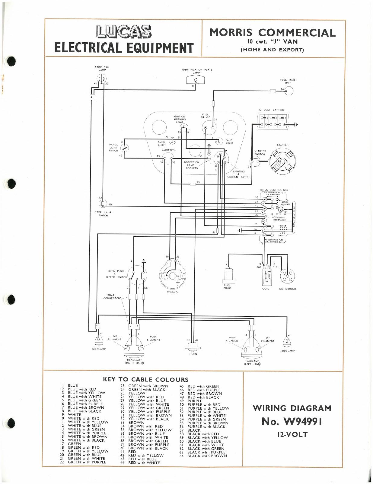 1960 1600 mga wiring diagram 1960 mga model car wiring
