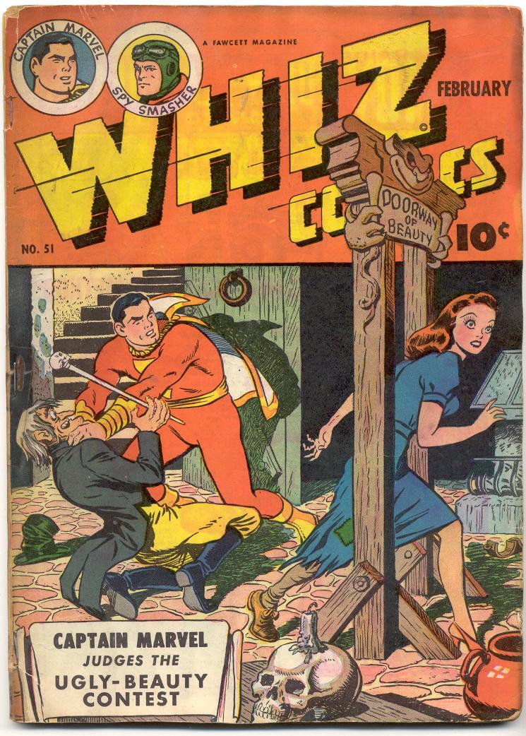WHIZ Comics 51 Page 1