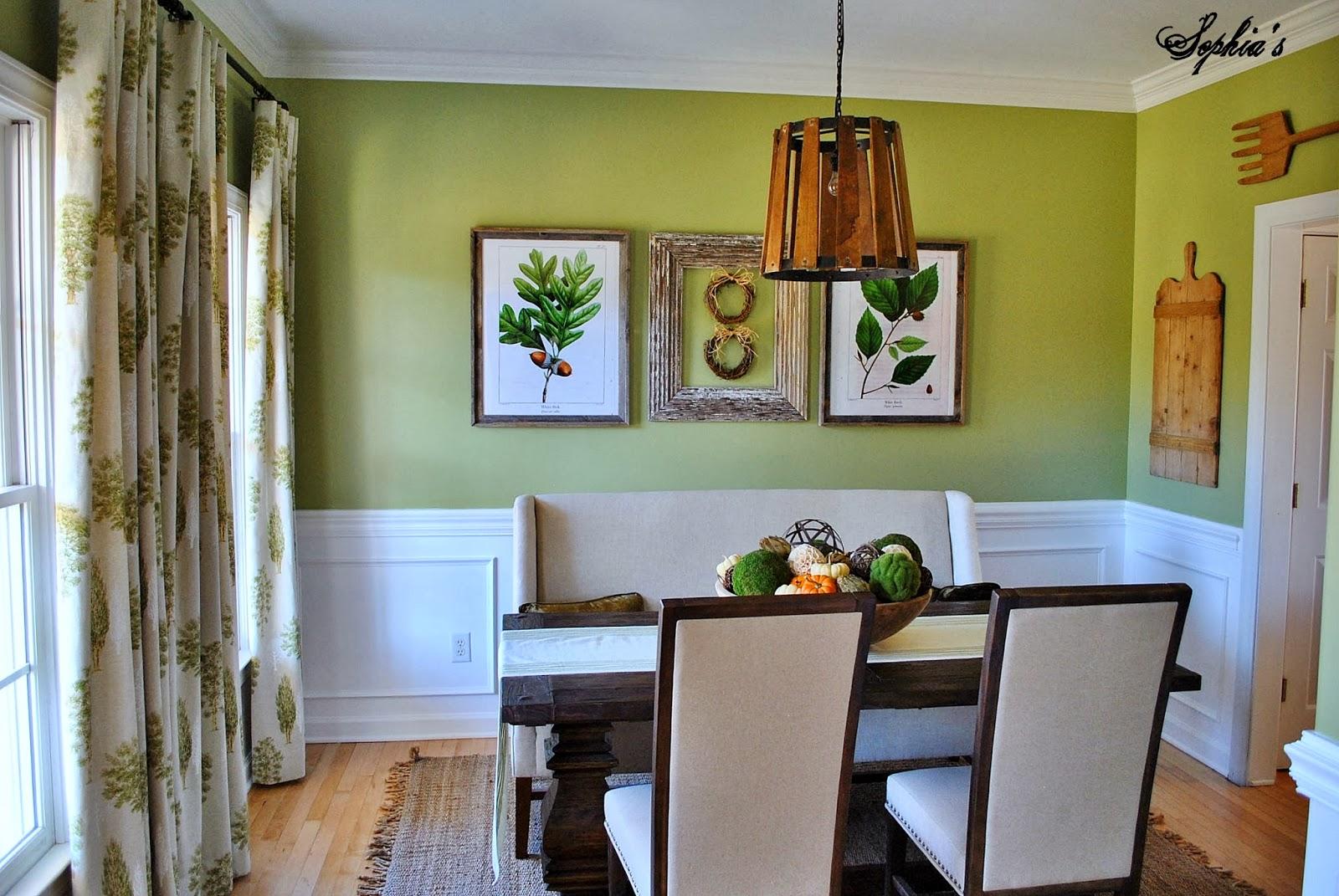 10 Fresh Green Dining Room Interior Design Ideas