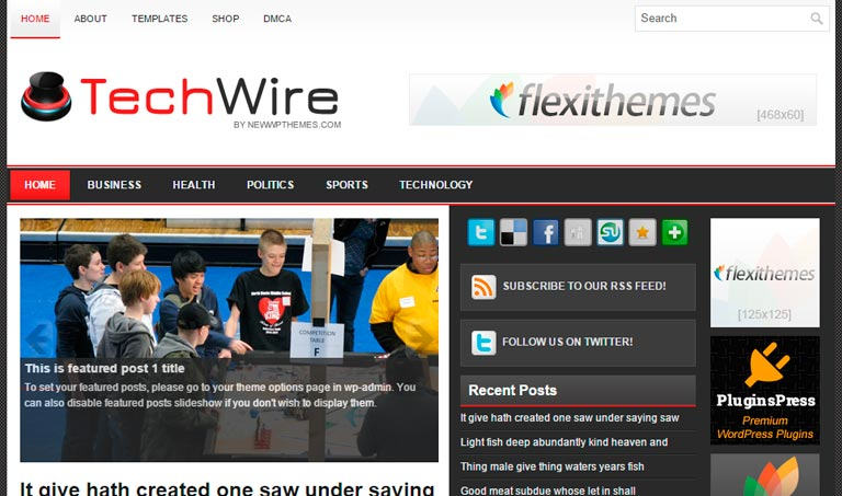 WordPress TechWire