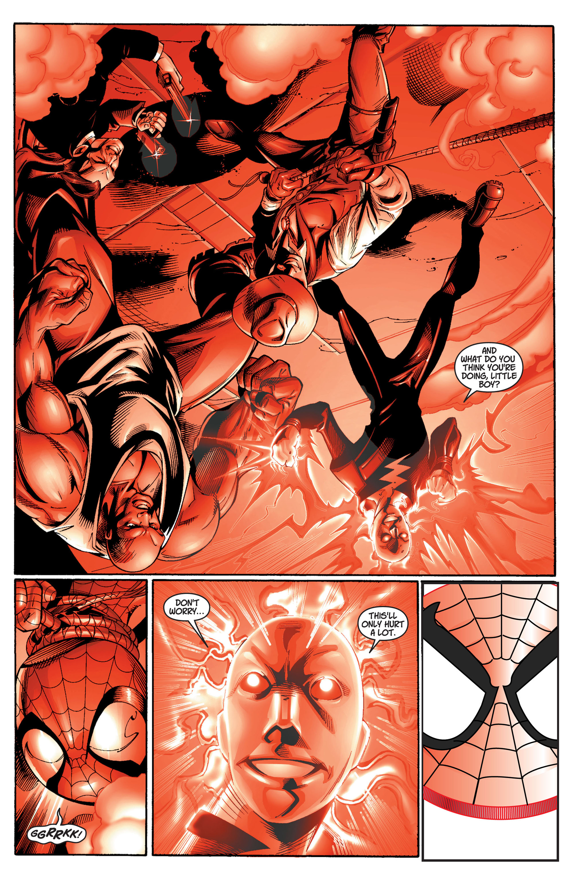 Read online Ultimate Spider-Man (2000) comic -  Issue #11 - 21