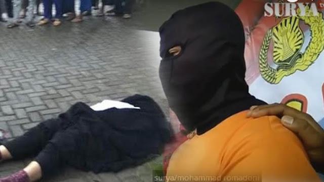 Hasil Rekonstruksi Ungkap Fakta-fakta Pembunuhan Wanita Bercadar yang Ternyata Dibunuh Selingkuhannya Sendiri...