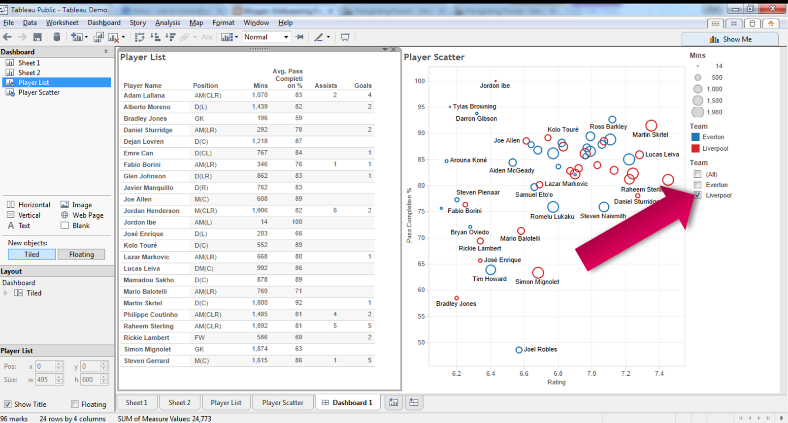 Wallpapering Fog How To Do Footballysis In Tableau