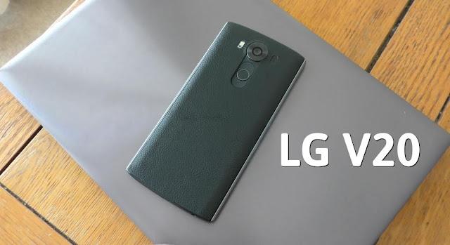 LG V20, Smartphone Elegan Untuk Para Audiophile