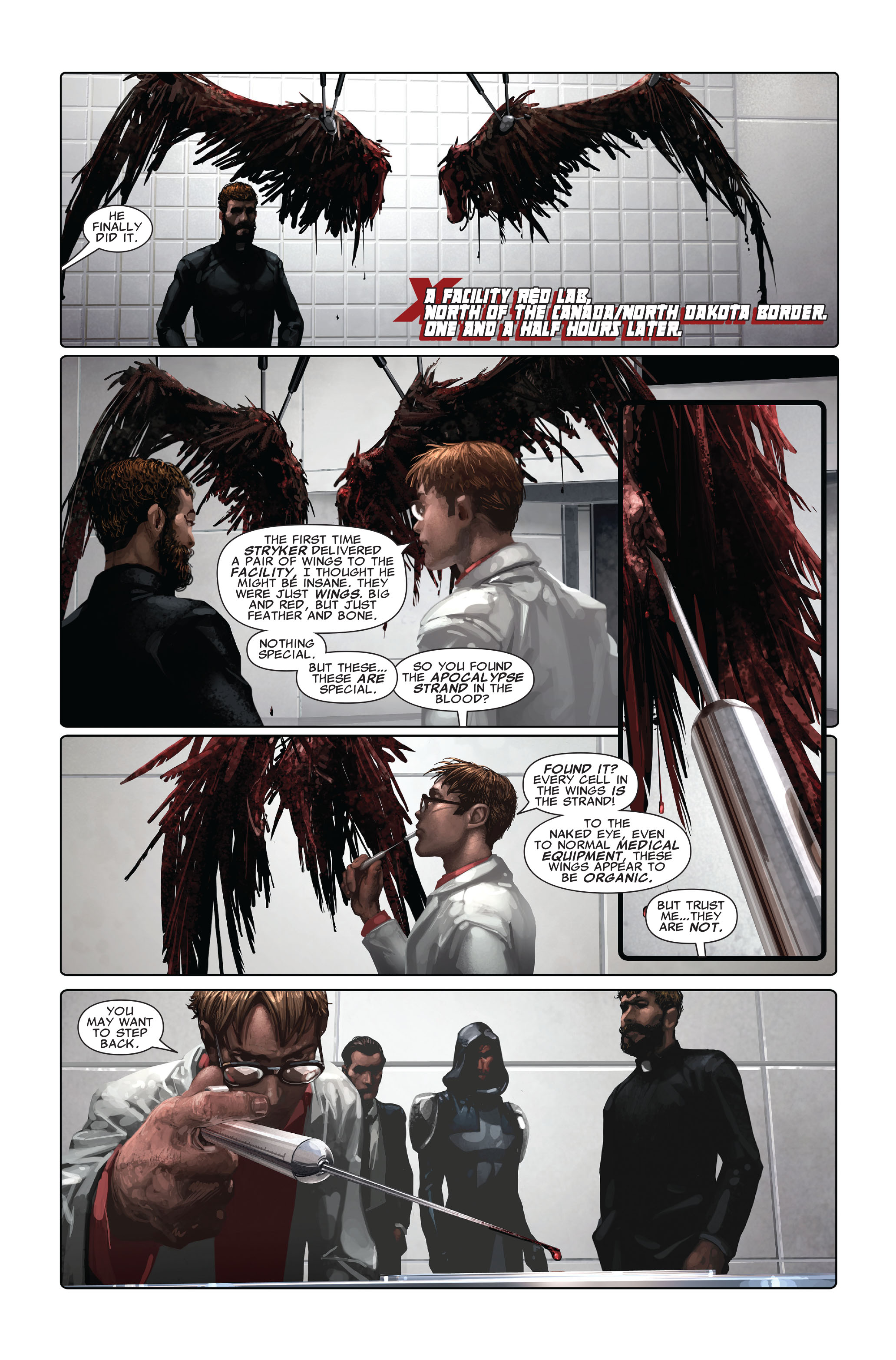 Read online X-Force (2008) comic -  Issue #4 - 16