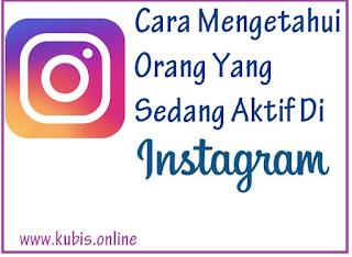 2 Cara Mengetahui Akun Instagram Yang Sedang Aktif Atau Online