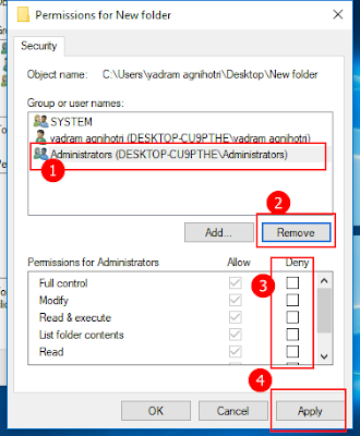 folder lock and unlock