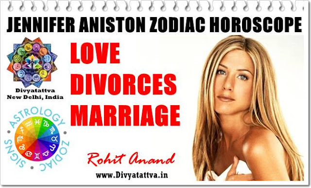 Jennifer Aniston horoscope birth charts, jyotish, vedic astrology kundli