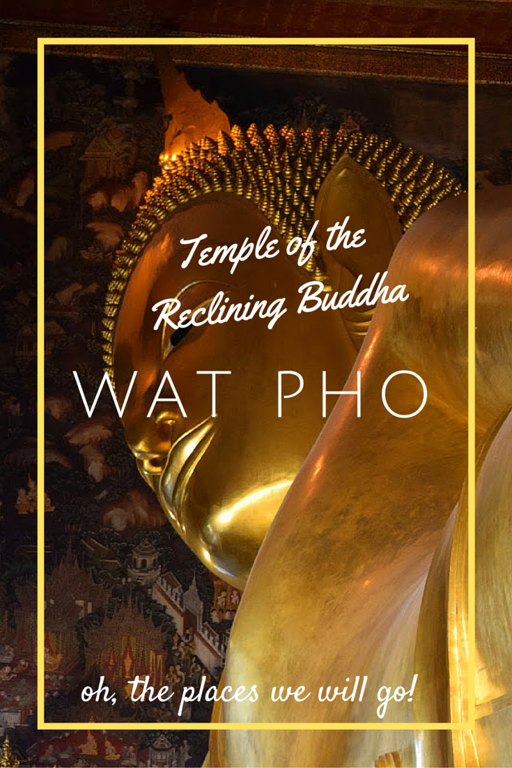 Wat Pho - The Temple of the Reclining Buddha Bangkok Thailand
