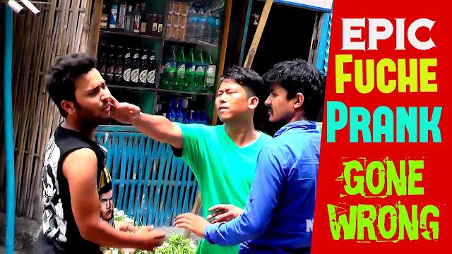 Nepali Prank - Epic Fuche Prank Barsha Siwakoti