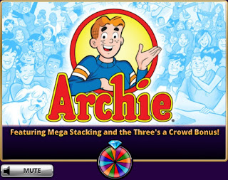 Loading screen of Archie slots at Hit It Rich