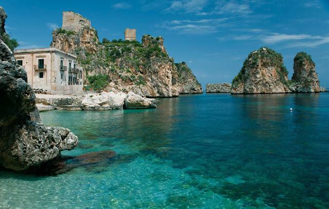 Scopello en Trapani, Sicilia