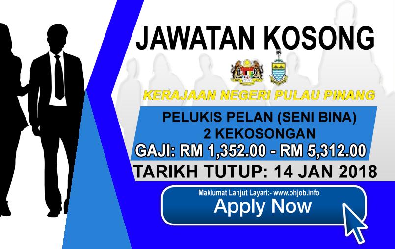 Jawatan Kerja Kosong Pejabat Setiausaha Kerajaan Negeri Pulau Pinang logo www.ohjob.info januari 2018