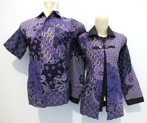 model baju batik sasirangan