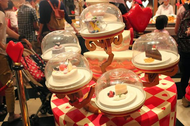 Tokyo Disneyland's Queen of Hearts Banquet Hall