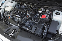 2016 all new Honda Civic More Better engine view