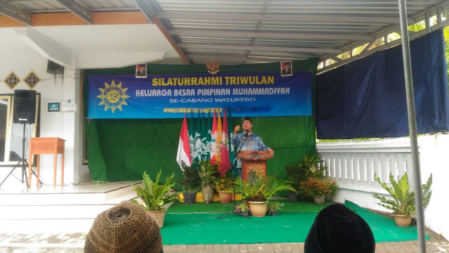 Silaturahmi Triwulan Watukebo Bahas Budaya Literasi Umat