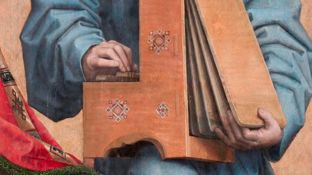 Parte derecha - Órgano portátil - Detalle