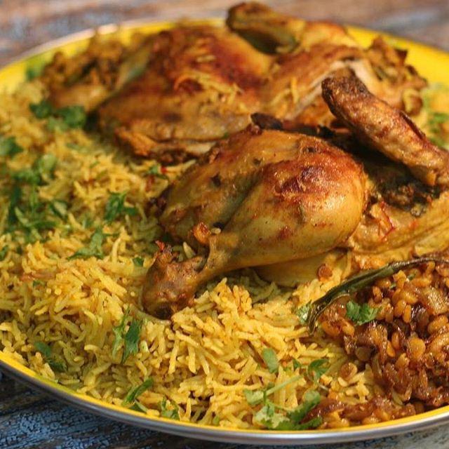 طريقة عمل كبسة دجاج Chicken Rice